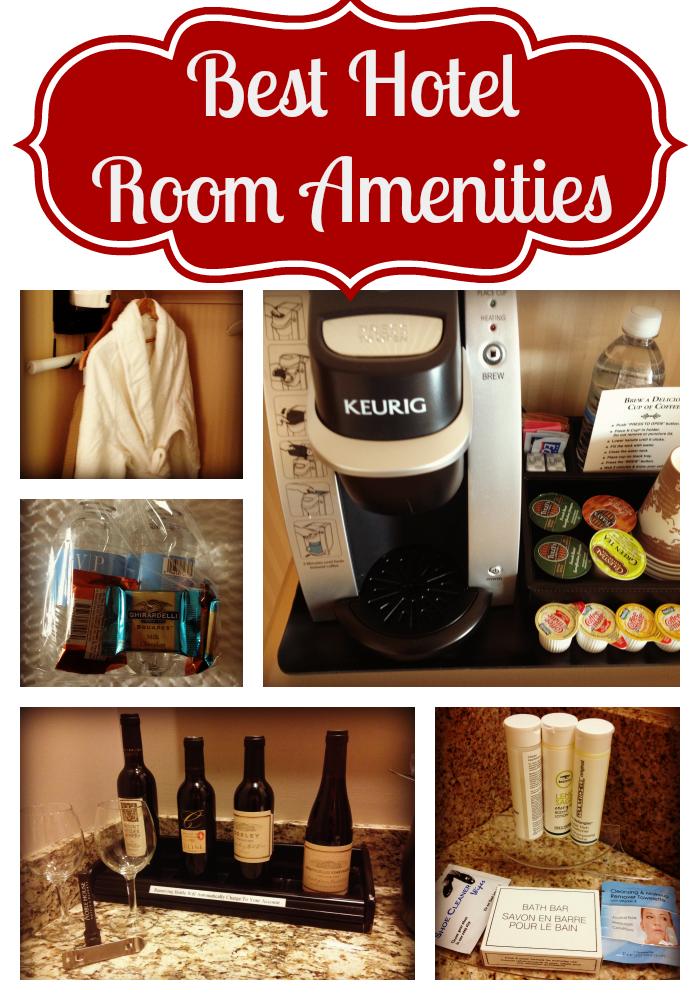 Best hotel amenities, good amenities, hotels, coffee, robes, bottled water