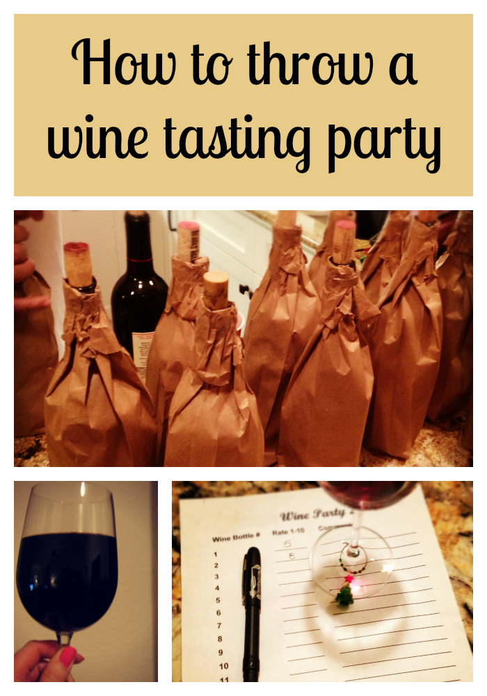 how to, throw, a wine tasting, party