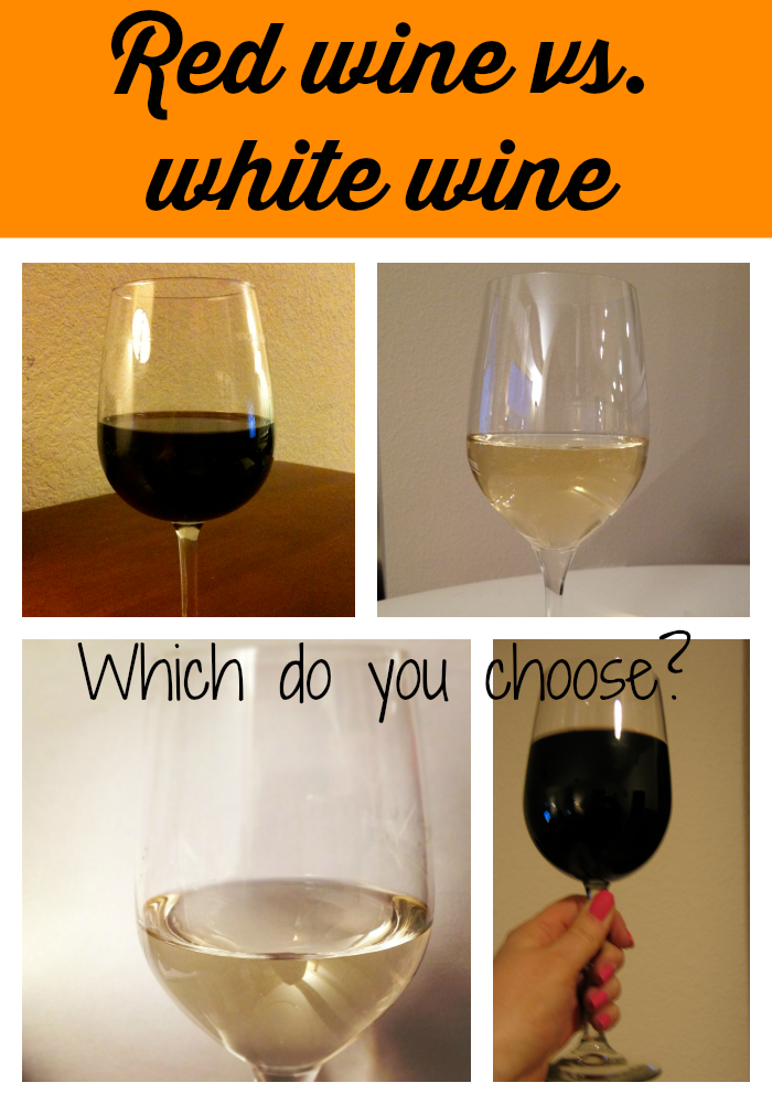 Red wine vs white wine debate