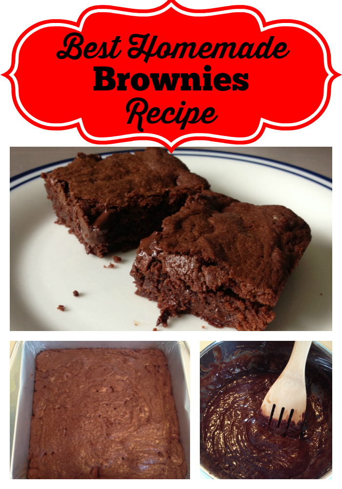 The best homemade brownies ever. (Made from scratch!) - recipe at ...