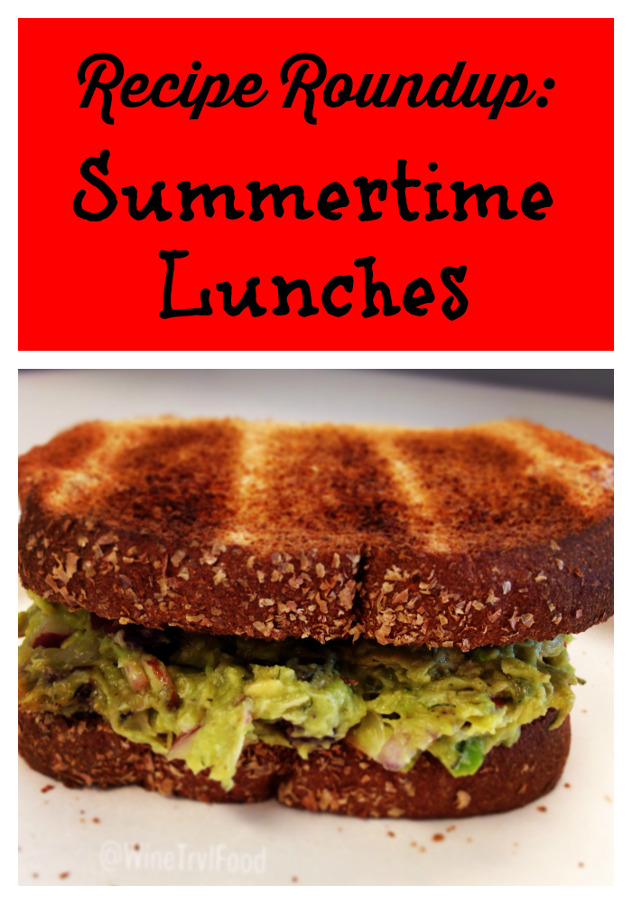 Recipe Roundup: Summertime lunches via @WineTrvlFood